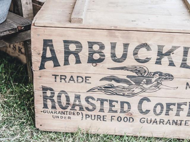 ARBUCKLES 커피 브랜딩 작업