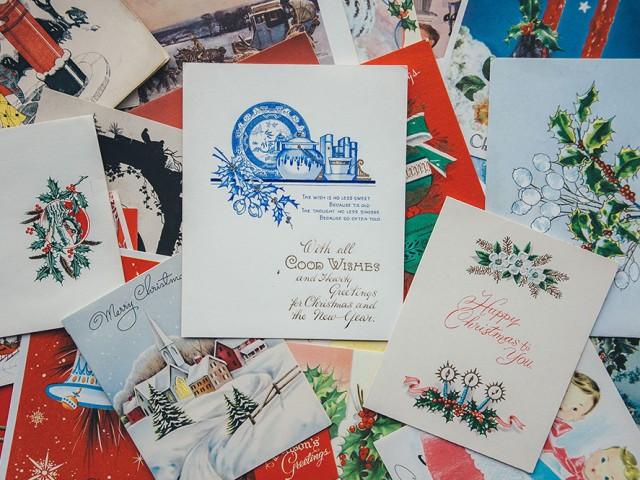 레이베이커리 크리스마스 카드 작업